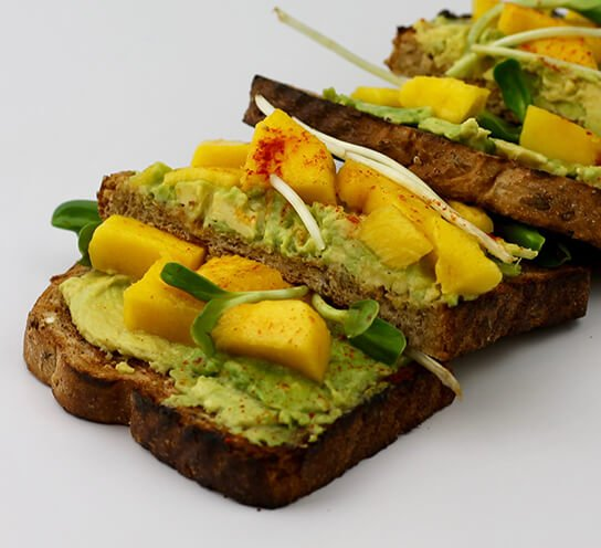 Healthy Lunch Tradition | Avocado Toast